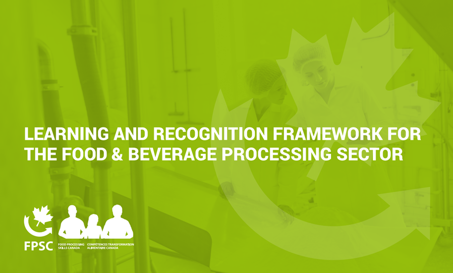 Learning & Recognition Framework For the Food & Beverage Processing Sector