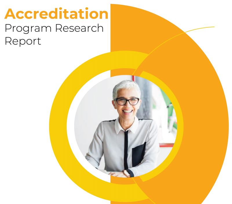 Accreditation Program Research Report